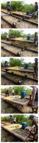bambusowa drezyna battambang