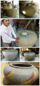 dzbany z woda kambodza